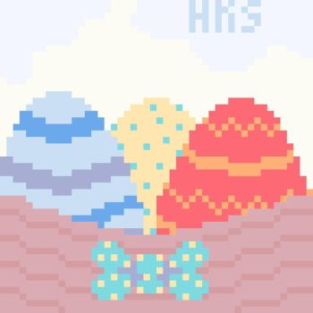 Pixel Easter Basket by SophieSuffocate