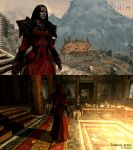 Tribunal robes mod by Zairaam
