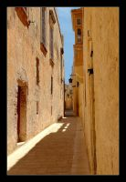 Streets In Mdina City - 3 by skarzynscy