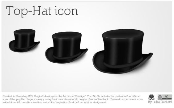 Top-Hat Icon by lukataylo