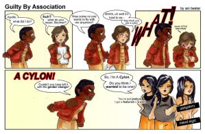 Guilty by Association by BSG-Comics