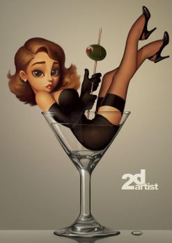 Martini Bambi by PapaNinja