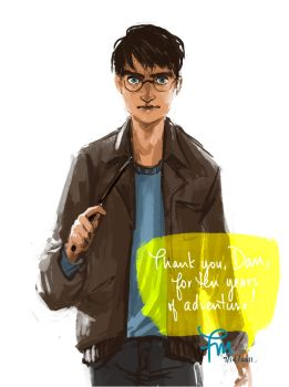 Thank you Daniel Radcliffe by flominowa