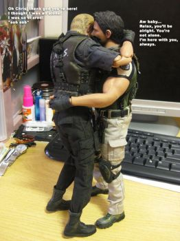 Wesker Wants a Hug by CatWesker