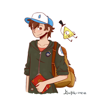 Dipper and bill .:Gif:. by isaya-nee