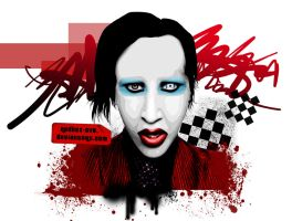 MarilYn MaNson by redbox-ave