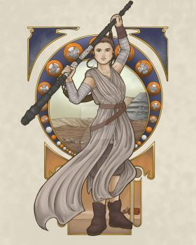 Jakku Scavenger Nouveau by DiHA-Artwork
