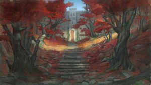 Red Path by Mirchaz