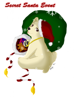 RON: Snowy Paw's pet Snowflake (Secret Santa) by Aiohon12