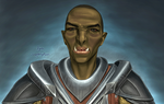 Ugor The Orc portrait shaded by swept-wing-racer