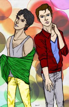 Model!Klaine by gogoily