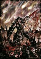 Blood for the Blood God by PaleLonginus