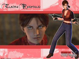 Claire Redfield -Let Me Live- by Claire-Wesker1