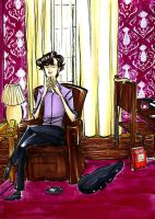 Sherlock on Bakers by dances-with-hipsters