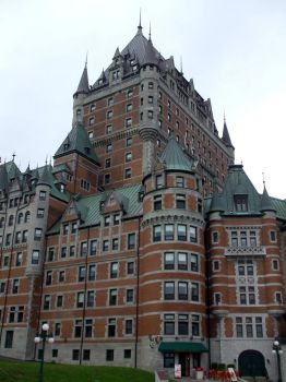 Chateau Frontenac 1 by purple-the-cactus