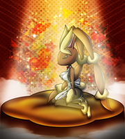 Lopunny- Sexy Luck by jot202 on DeviantArt