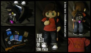 The Last of Us: Ellie Plush [OLD LOOK] by StitchedAlchemy