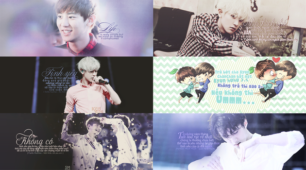 EXO QUOTE PACK by emlaxinkgai