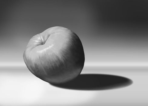 Apple Study - Photoshop Fundamentals Course by AsteroidArts