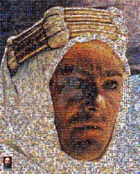 Lawrence of Arabia Photomosaic by DolfD
