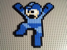 Lego Megaman by Shoes742