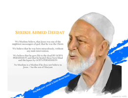 Sheikh Ahmed Deedat by Haizeel