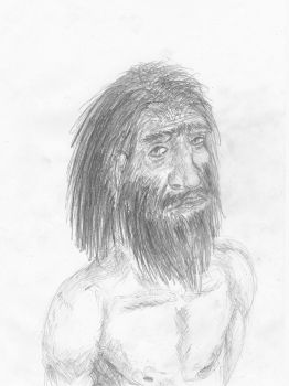 Old heidelbergensis drawing by AnonymousLlama428