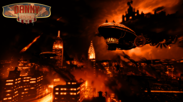 BioShock Infinite:Red Hell by ImOnlyAmateur