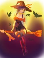 Witch Nidalee by bluelightt