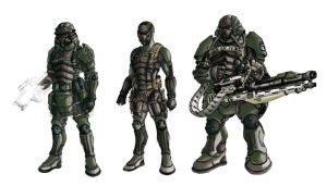 Soldiers by hydriss28