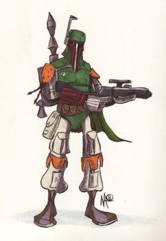 The Most Feared Bounty Hunter by rightbraind