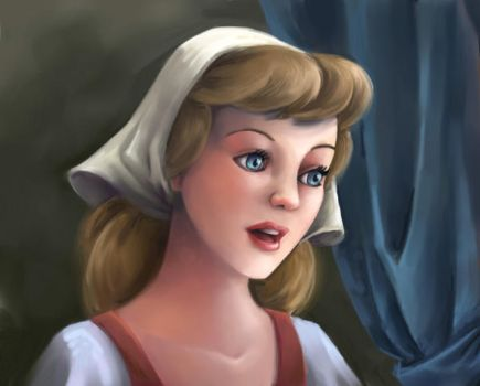 Cinderella Painted by BetterthanBunnies