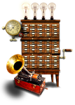 Steampunk Audio Icon (Realplayer) by yereverluvinuncleber