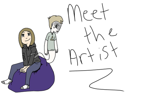 Meet the artist! by ZealousZealot77
