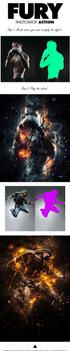 Fury Photoshop Action by 7styles