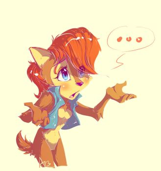 Sad News for Sally Acorn - speed-painting video by AllesiaTheHedge