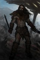 Viking Berserker Concept by Aerozopher