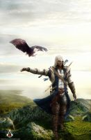 Connor Kenway 2-Assassin's Creed III by Aranict