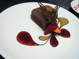 Chocolate marquise by Tracebo