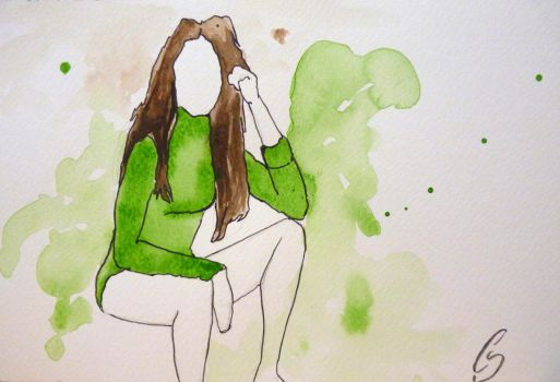 Green Girl by CrystalSanch