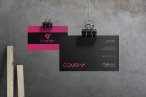 Flare - Corporate Business Card by macrochromatic