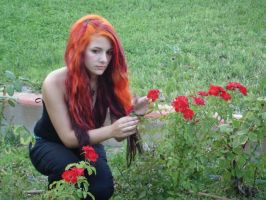 Flame hair... by MorticiaVamp