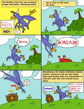 Le Spore Adventures. Page 11: Stupid Pods... by thelakotanoid1
