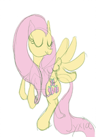 Fluttershy by Jyxia
