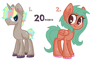 MLP Adopts [CLOSED] by KatPocketMonster