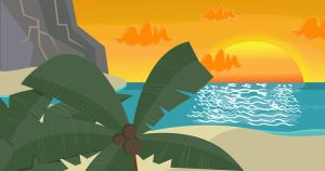 TD Tropical Beach Bg-Usable by TheRScrooge