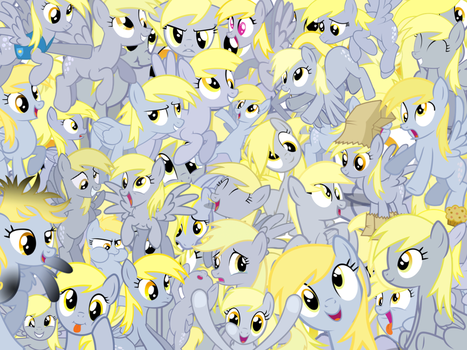 Too Much Derpy by X-TURENT