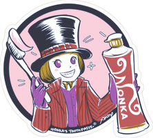 Wonka Toothpaste by amoykid