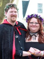 Goddess at her Handfasting 7 by peach1973