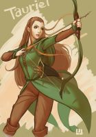 The Hobbit: The Desolation of Smaug----Tauriel by canonfalao